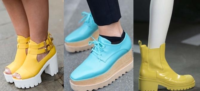 Женская обувь - весенняя мода 2015