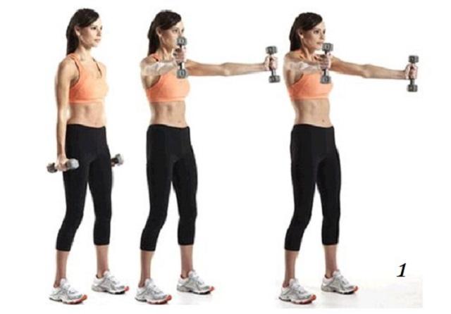 Упражнения для похудения верхней части спины