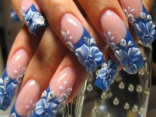 Основные приемы росписи ногтей