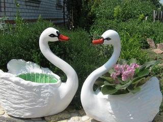 Лебедь, ...кот и черепаха: ландшафтный дизайн вашего сада