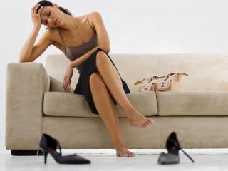 Уход за уставшими ногами. Женские рецепты красоты