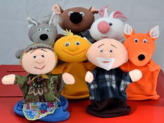 Кукольный театр на пальчиках