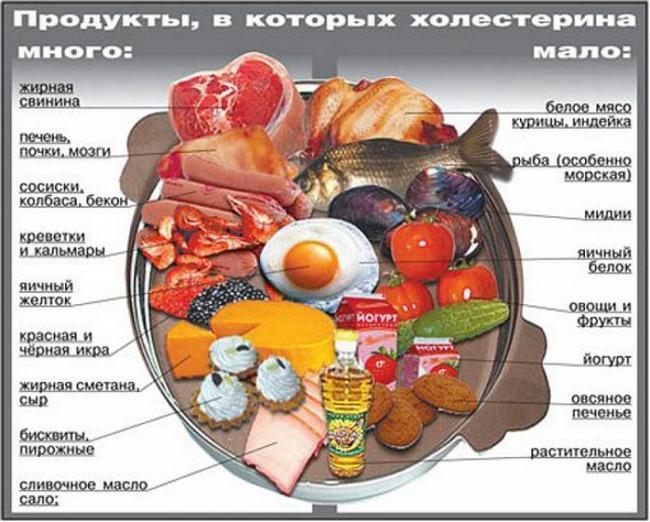 повышенный холестерин в крови причины диета