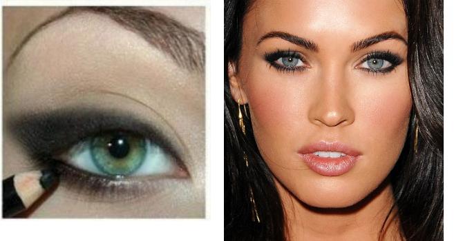 Звездный макияж Меган Фокс, Кейт Миддлтон, Хайди Клум и Дрю Бэрримор.