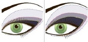фото смоки айс для зеленых глаз