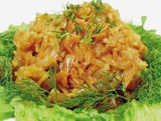 Карри из белокочанной капусты