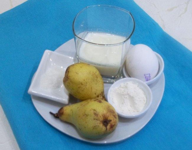 Если вы хотите разнообразить свой утренний рацион питания, приготовьте к завтраку омлет с грушами!