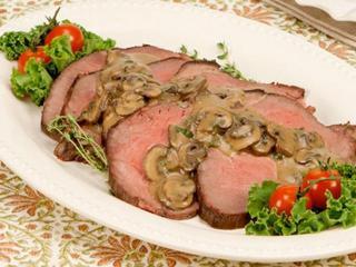 Жареная говядина с грибами - рецепт с фото