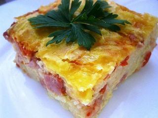 Сырник со сладким перцем, укропом, петрушкой  Простой и быстрый рецепт блюда из сыра. Вегетарианская кухня