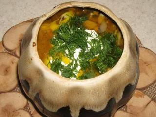 Уральская похлебка. Рецепты первых блюд в горшочках