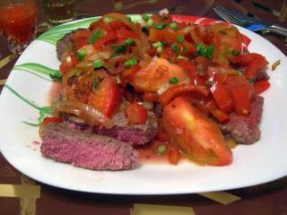 Бифштекс по-мексикански. Вкусные рецепты блюд из мяса. Мексиканская кухня