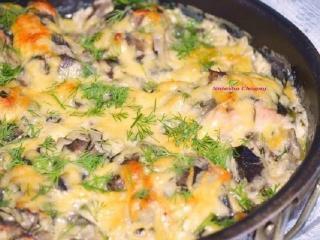 Судак в грибном соусе - рецепт блюда из рыбы