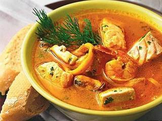 Суп «морской»