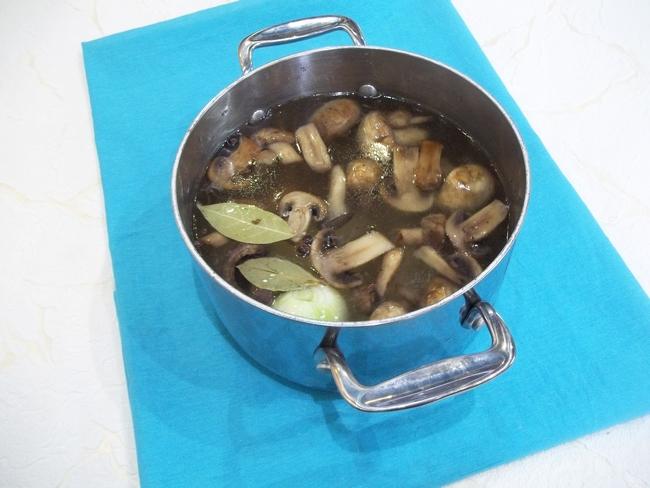 замороженный суп с грибами рецепт