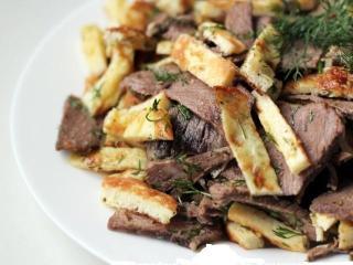 Яичный салат с говядиной - закуска, котолрая понравится всем!