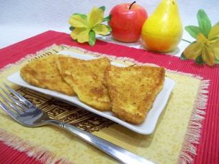 Жареный сыр в панировке. Рецепт с фото