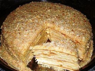 Торт «Наполеон» по этому рецепту можно приготовить на сковороде