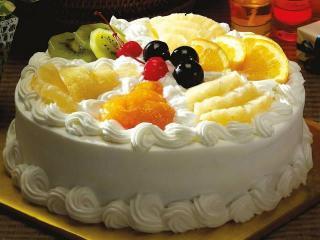 Праздничный торт. Рецепт «выпечки без выпечки».