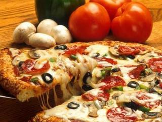 Пицца с грибами и сыром: простой рецепт с фото