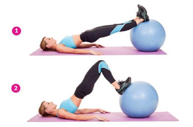 для похудения фитболе фитнес на
