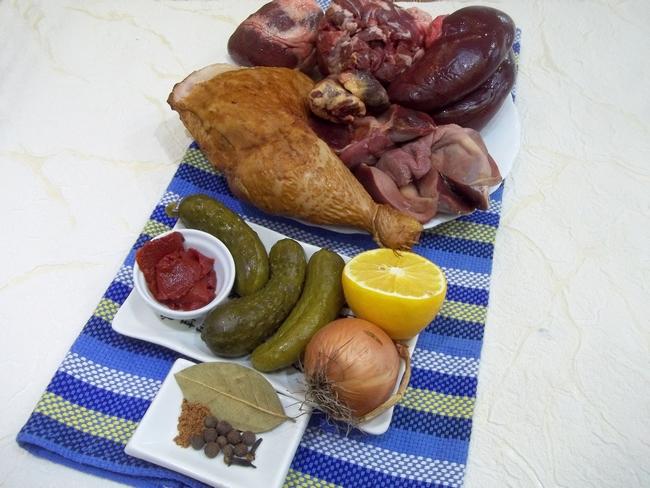 солянка самый простой рецепт приготовления