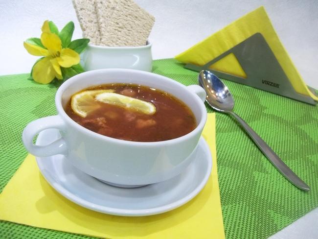 Предлагаемый набор продуктов делает солянку с почками по-домашнему ароматной, вкусной и изысканной!