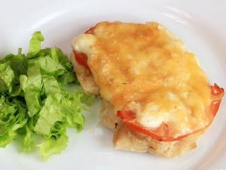 Куриные грудки с помидорами. Вкусный рецепт блюда из курицы. Детское питание