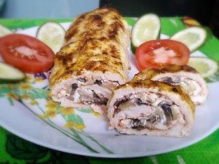 вкусные рецепты с фото мясные рулеты с маслинами