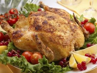 Фаршированная курица. Праздничные рецепты блюд из курицы к Рождеству и Новому году