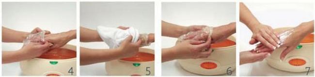 Как сделать парафиновую ванну