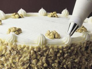 Как украсить торт кремом и желе в домашних условиях