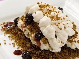 Десерт из взбитых сливок - простой рецепт с фото