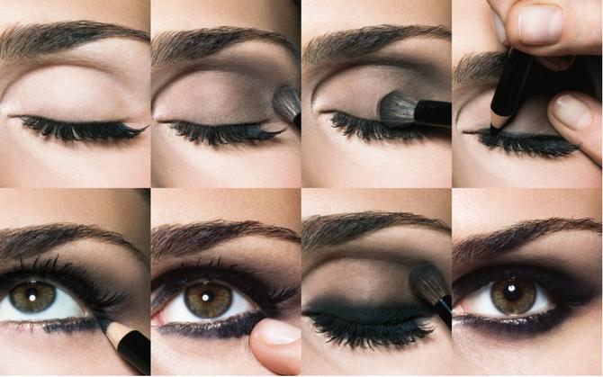 Макияж для карих глаз: уроки, фото и