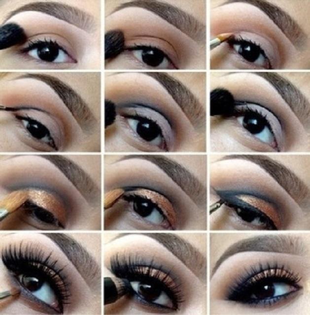 Макияж для карих глаз - 50