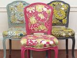 Как перетянуть стул, кресло, банкетку
