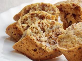 Кексы с орехами