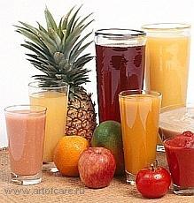 Лечение соками.  Свежевыжатые соки  как лекарство (здоровое и лечебное питание)