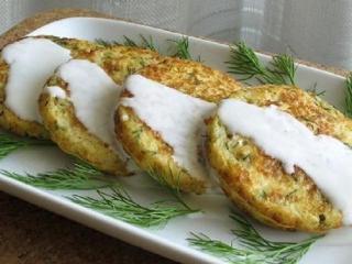 Оладьи из цветной капусты с сыром
