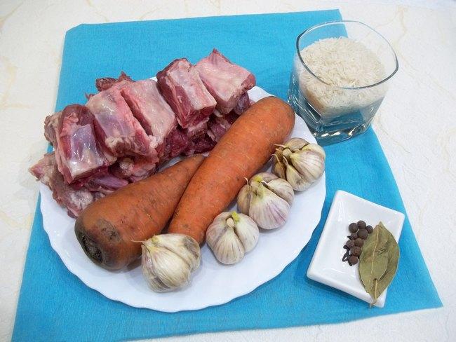 Плов из ребрышек свинины рецепт с фото