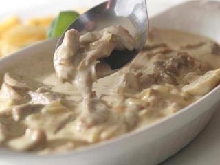 Баранина запеченная в сметане с луком. Вкусные рецепты горячих блюд из мяса