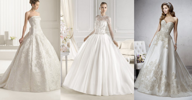 Свадебные платья на пышногрудых