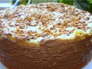 Торт «Киевский». Праздничные рецепты выпечки к Новому году и Рождеству