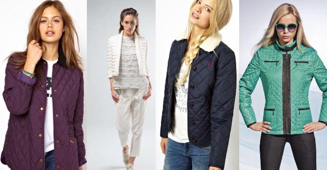 Весенний модные куртки