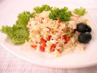 Рисовая диета с овощами