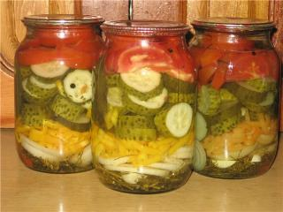 салаты на зиму как приготовить