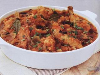 Курица с помидорами Простой рецепт блюда из курицы