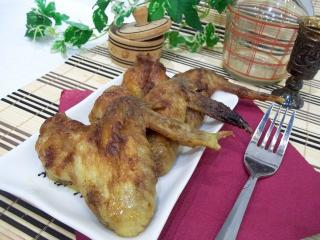 Запеченные куриные крылышки в горчичном соусе. Рецепт с фото