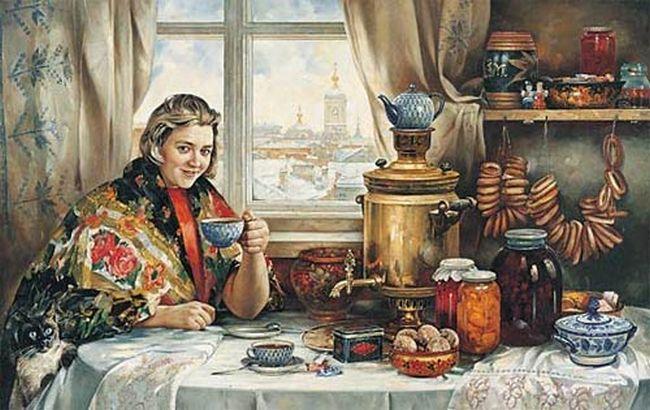 Откуда чай в России