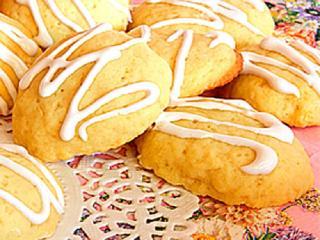 Печенье «Лимонное» с изюмом и орехами