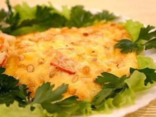 Отбивные из телятины с листьями салата